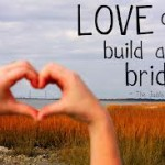 Love can bulid a bridge